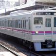 京王電鉄 6000系6013F⑧ クハ6700形 6713 地上線用8連