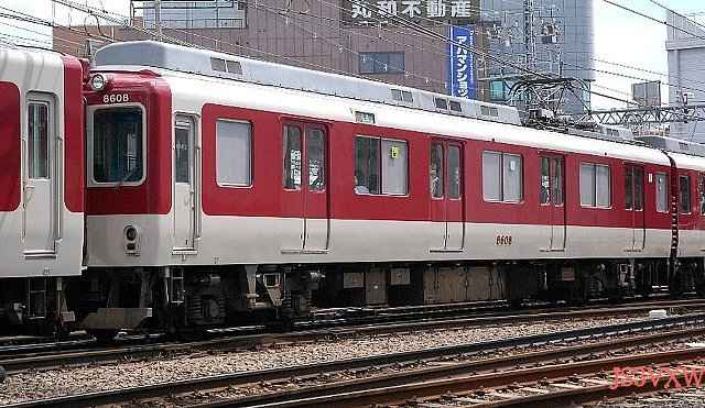 近畿日本鉄道 奈良線系統 8600系 8108F④ モ8600形 8608