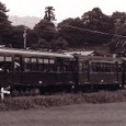 近畿日本鉄道 北勢線 1977年 阿下喜駅 サ130形 135
