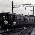 近畿日本鉄道 北勢線 1977年 阿下喜駅 サ130形 131