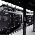 近畿日本鉄道 北勢線 1977年 阿下喜駅 モニ220形 225