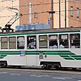 熊本市交通局(熊本市電) 1200形 1201 新塗装 撮影2013年