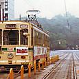 熊本市交通局(熊本市電) 1200形 1201 旧塗装