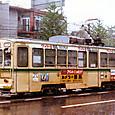 熊本市交通局(熊本市電) 1200形 1203 旧塗装