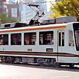 熊本市交通局(熊本市電) 8800形 8802 桂林号 1993年撮影