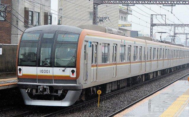 東京メトロ(東京地下鉄) 10000系01F① 10000形 10001 副都心線/有楽町線用