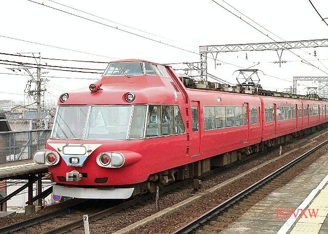 名古屋鉄道 7500系パノラマカー 7501F① モ7500形  7501 1次車