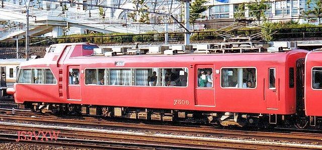 名古屋鉄道 7500系パノラマカー 7505F⑥ モ7500形  7506 1次車