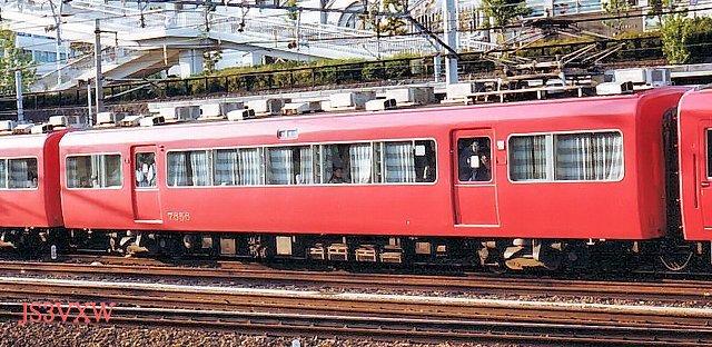 名古屋鉄道 7500系パノラマカー 7505F② モ7650形  7656 1次車