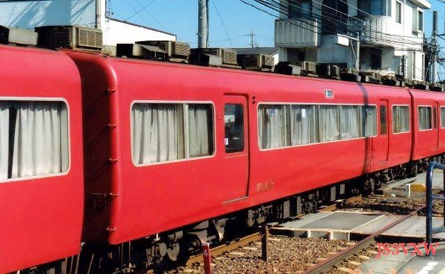 名古屋鉄道 7500系パノラマカー 7513F③ モ7650形 7663 2次車