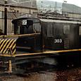 名古屋鉄道 デキ300形 電気機関車 303 更新工事以前