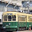長崎電気軌道(長崎市電) 201形(車体更新車) 203 オリジナル塗装 2014年撮影