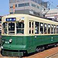 長崎電気軌道(長崎市電) 300形 303 オリジナル塗装 2014年撮影
