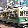 長崎電気軌道(長崎市電) 370形(冷房改造車) 374 オリジナル塗装 2006年撮影