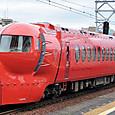 南海電気鉄道 赤いラピート 50000系02F① 50702 ネオ ジオン バージョン