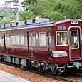 能勢電鉄 1500系 10F2連① 1510 阪急色 2010年撮影