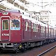 能勢電鉄 1700系 06F④ 1706 阪急色