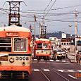 岡山電気軌道 3000形 3008 もと東武日光軌道線100形 101