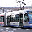 岡山電気軌道 9200形1次車 「MOMO」 9201A
