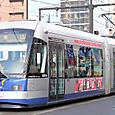 岡山電気軌道 9200形1次車 「MOMO」 9201B
