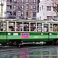 札幌市交通局 (札幌市電) 220形(車体更新車) 221号機   *新塗装    1997年撮影