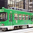 札幌市交通局 (札幌市電) 8520形 8521号機   ST塗装    2014年撮影