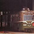 *札幌市交通局 (札幌市電) 700形 713号機   オリジナル塗装     1984年撮影