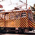 札幌市交通局 (札幌市電) 雪1形(除雪車) 雪2号機   1989年撮影?