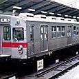 東京急行電鉄 旧7000系 7011F① 7011 日比谷線直通