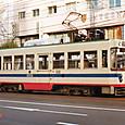 土佐電気鉄道 軌道線 1000形 1002 1992年12月撮影