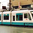 土佐電気鉄道 軌道線 100形① 101A ハートラム 2003年3月撮影