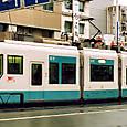 土佐電気鉄道 軌道線 100形③ 101B ハートラム 2003年3月撮影