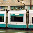 土佐電気鉄道 軌道線 100形② 101C ハートラム 2003年3月撮影