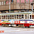 土佐電気鉄道 軌道線 200形 205 直接制御車 1984年撮影?