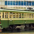土佐電気鉄道 軌道線 200形 215 直接制御車 旧塗装(復活) 2003年3月撮影