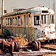 土佐電気鉄道 軌道線 旧300形 321 1984年撮影?