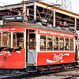 土佐電気鉄道 軌道線 外国電車 533形 533 もとリスボン市電 1992年12月撮影