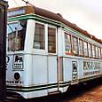 土佐電気鉄道 軌道線 外国電車 910形 910 もとリスボン市電 1992年12月撮影