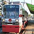 豊橋鉄道(東田本線) モ780形 786 広告塗装